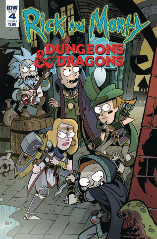 Rick and Morty vs. Dungeons & Dragons #4 (Little Cover)