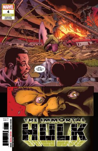 The Immortal Hulk #4 (Bennet 2nd Printing)