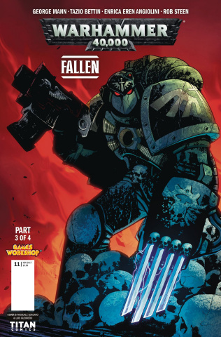 Warhammer 40,000: Fallen #3 (Qualano Cover)
