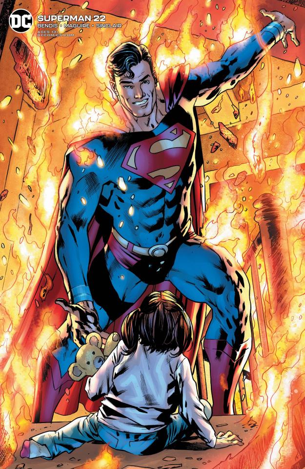 Superman #22 (Bryan Hitch Cover)