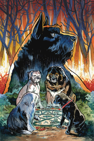 Beasts of Burden #1 (Wise Dogs & Eldritch Men Cover)