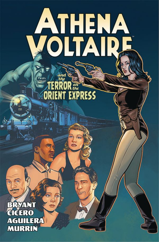 Athena Voltaire: Terror on the Orient Express