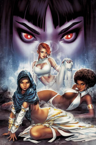Sacred Six #4 (10 Copy Chatzoudis Virgin Cover)