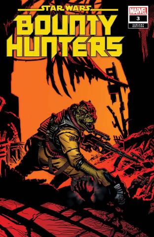 Star Wars: Bounty Hunters #3 (Golden Cover)