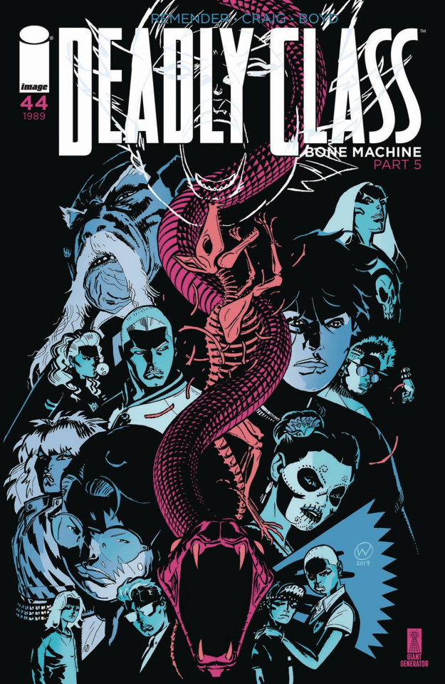 Deadly Class #44 (Craig Cover)