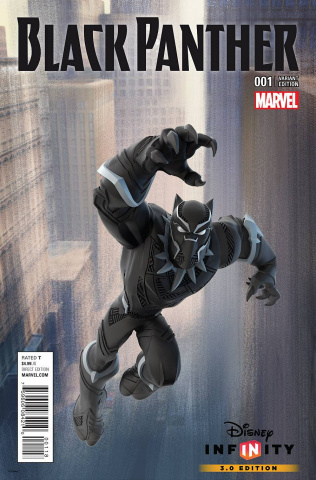 Black Panther #1 (Disney Infinity Game Cover)