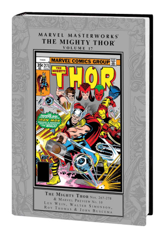 The Mighty Thor Vol. 17 (Marvel Masterworks)
