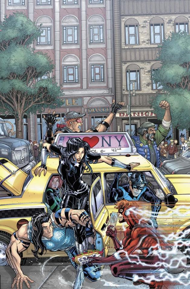 Titans #8 (Variant Cover)