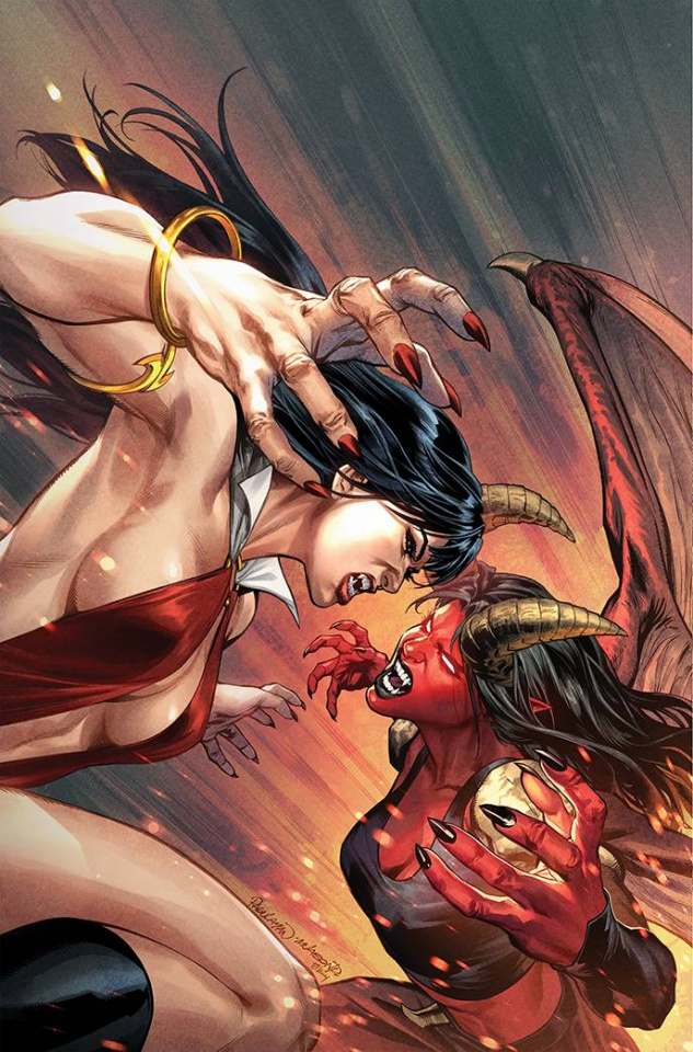 Vampirella vs. Purgatori #3 (10 Copy Pagulayan Virgin Cover)