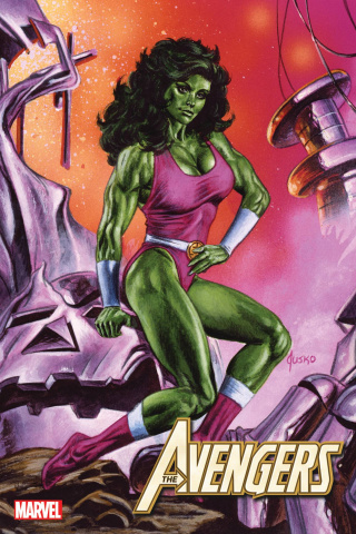 Avengers #49 (Jusko Marvel Masterpieces Cover)