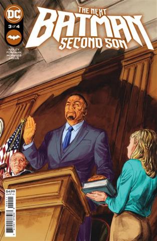 The Next Batman: Second Son #3 (Doug Braithwaite Cover)