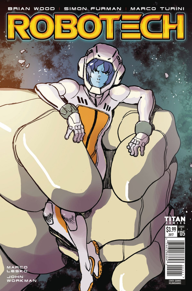 Robotech #6 (Milonogiannis Cover)