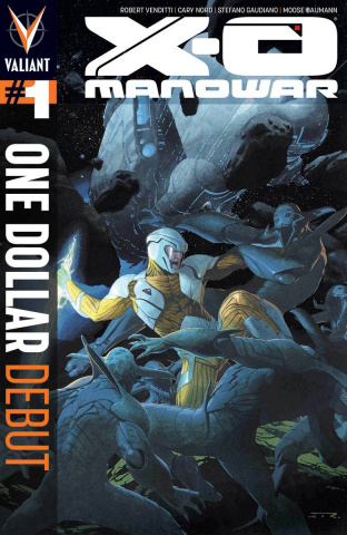 X-O Manowar #1 (One Dollar Debut)