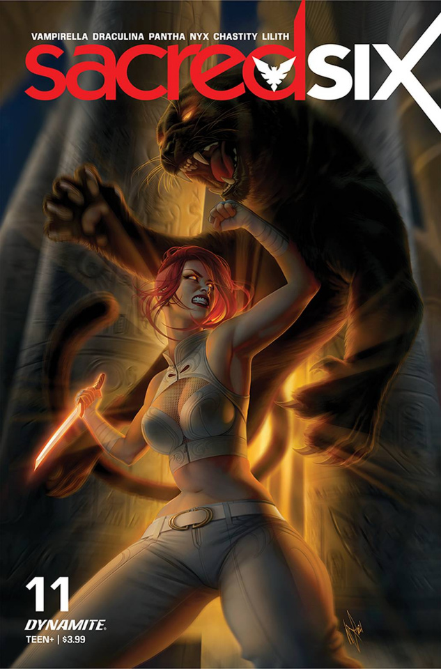 Sacred Six #11 (Louw Cover)