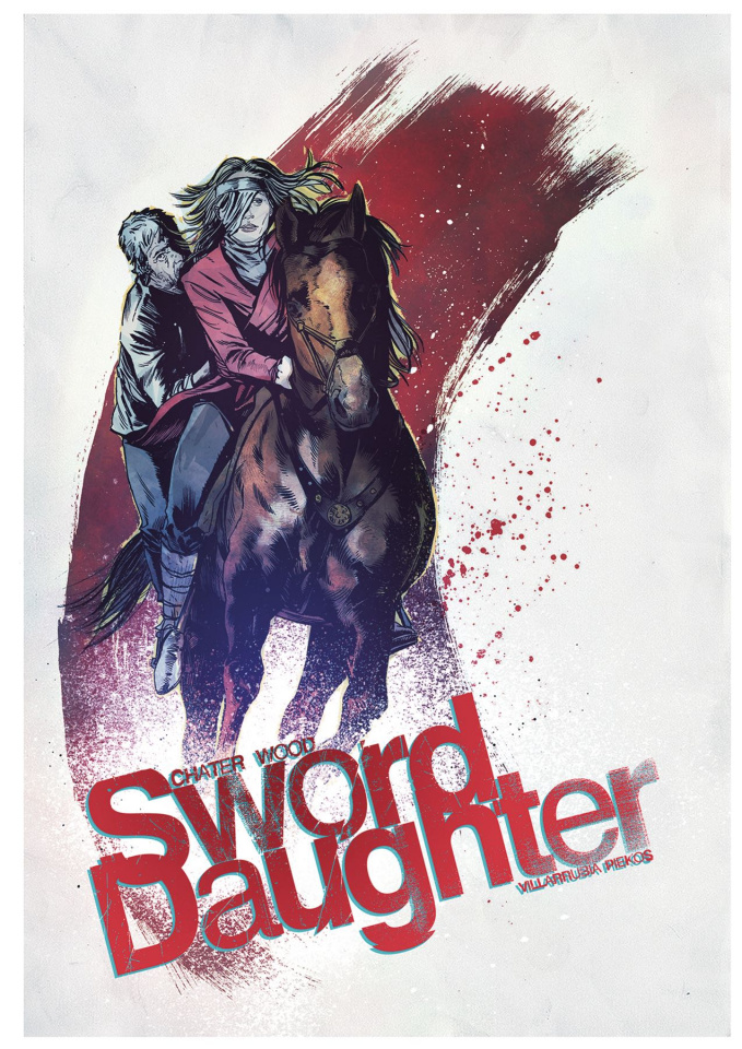 Sword Daughter #7 (Chater Cover)