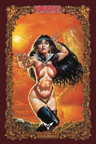 Vampirella #9 (60 Copy Texeira Icon Cover)
