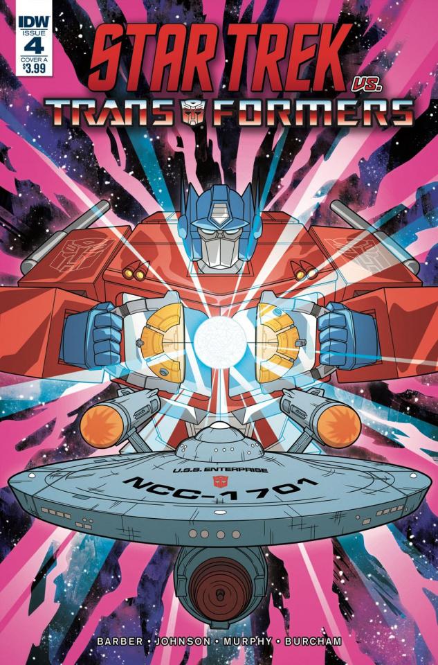 Star Trek vs. The Transformers #4 (Murphy Cover)