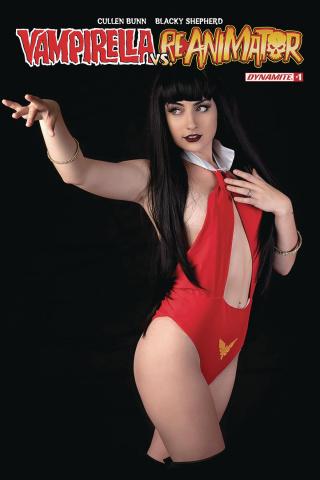 Vampirella vs. Reanimator #1 (Cosplay Cover)