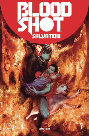Bloodshot: Salvation #7 (Guedes Cover)
