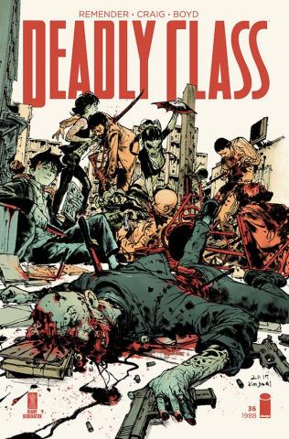 Deadly Class #36 (Gi & McCaig Cover)
