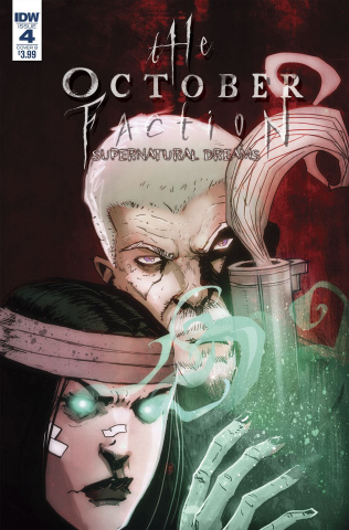 The October Faction: Supernatural Dreams #4 (Worm Cover)