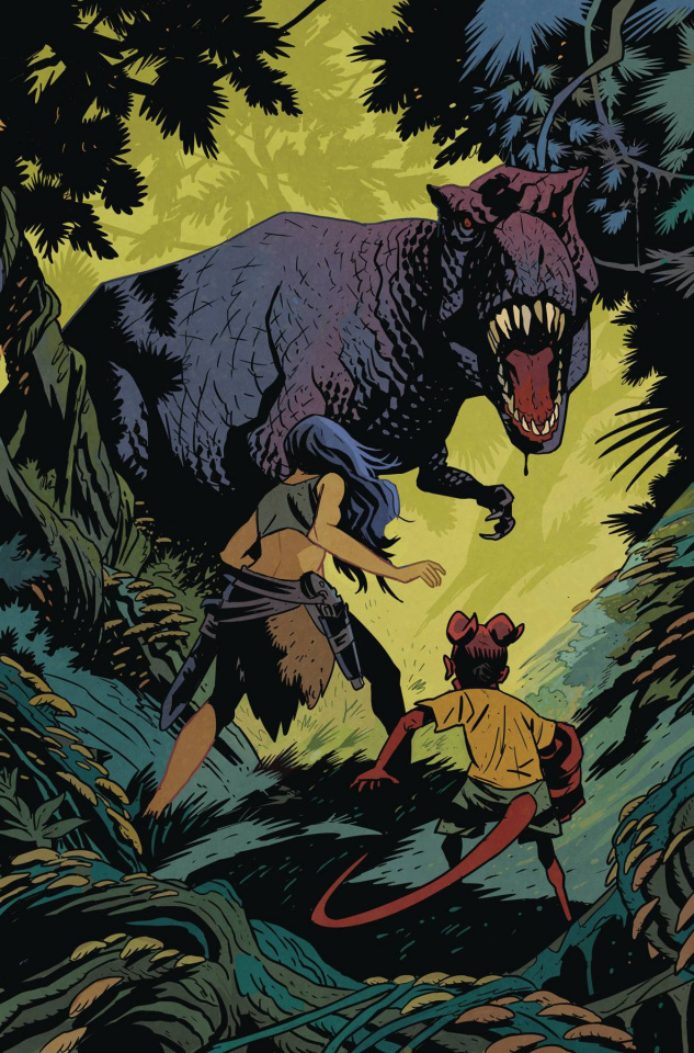 Young Hellboy: The Hidden Land #2 (Smith Cover)
