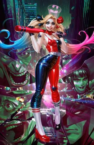 Harley Quinn #1 (Derrick Chew Card Stock Cover)