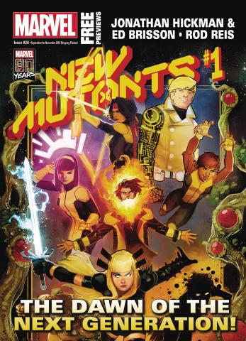 Marvel Previews #28: November 2019 Extras