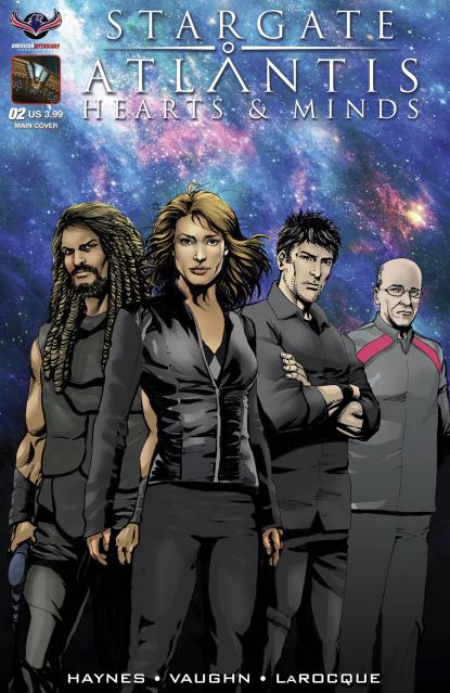 Stargate Atlantis: Hearts & Minds #2 (Larocque Cover)