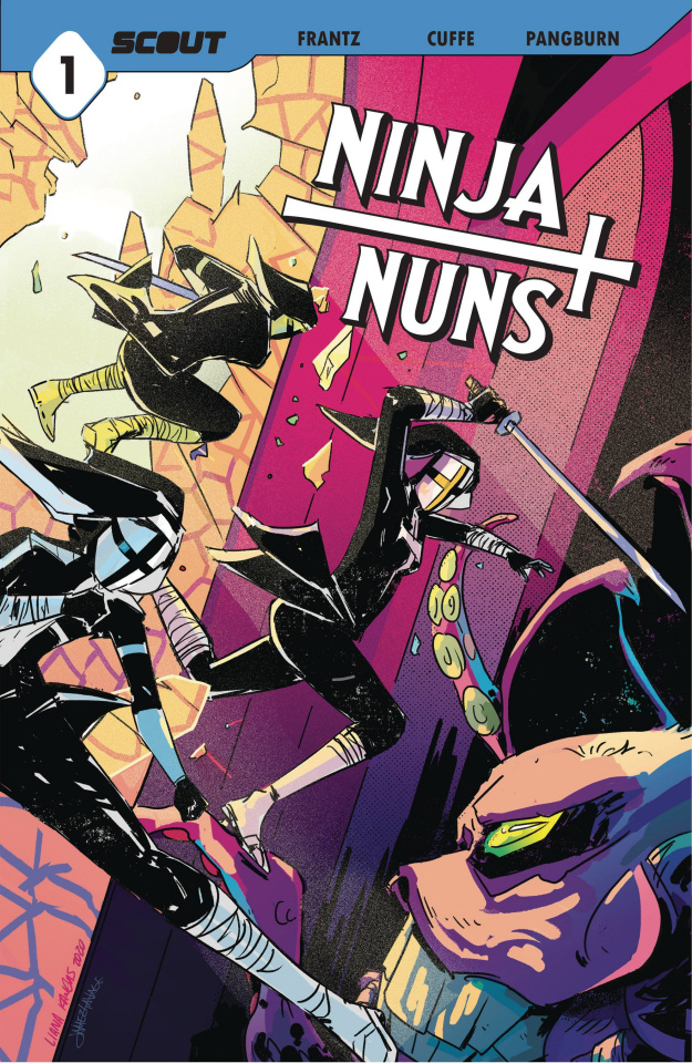 Ninja Nuns: Bad Habits Die Hard #1 (10 Copy Unlocked Cover)