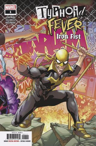 Typhoid Fever: Iron Fist #1