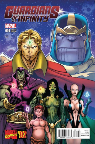Guardians of Infinity #1 (Lim Marvel '92 Cover)