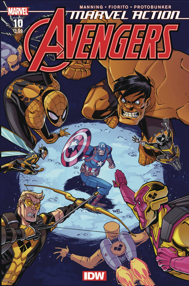 Marvel Action: Avengers #10 (2nd Printing)