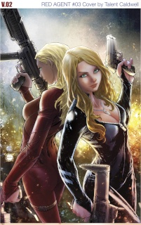 Grimm Fairy Tales: Red Agent #3 (Caldwell Cover)
