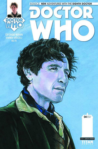 Doctor Who: New Adventures with the Eighth Doctor #4 (Edwards Cover)