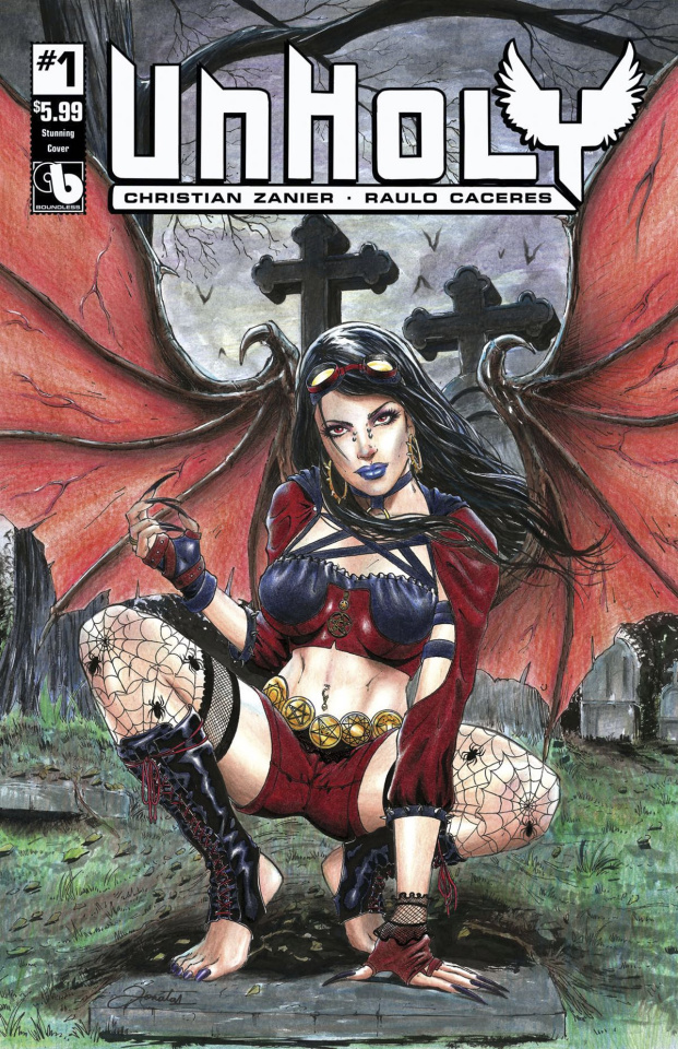 UnHoly #1 (Stunning Cover)