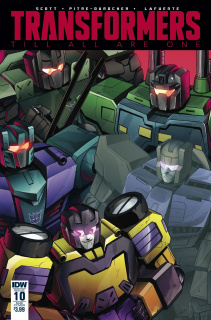 The Transformers: Till All Are One #10 (Subscription Cover)