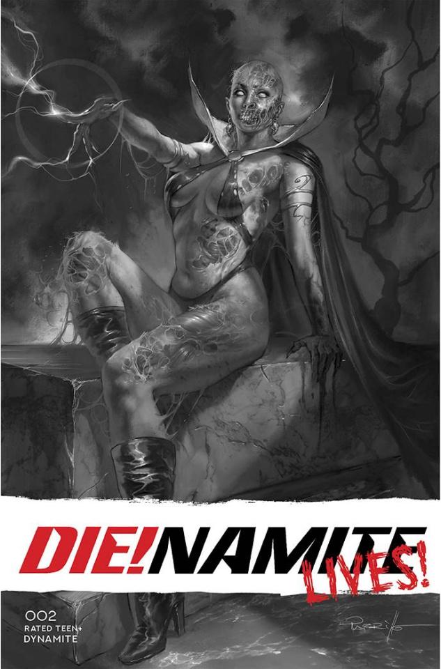 DIE!namite Lives! #2 (50 Copy Parillo Line Art Cover)