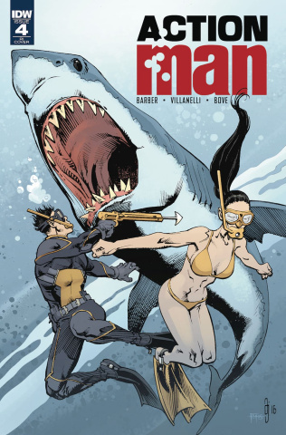 Action Man #4 (10 Copy Cover)