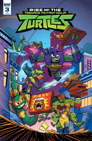 Rise of the Teenage Mutant Ninja Turtles #3 (10 Copy Thomas Cover)
