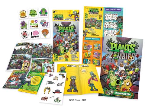Plants vs. Zombies Minicomic Pack Display Box