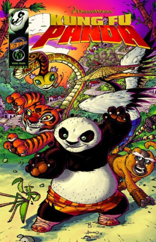 Kung Fu Panda Vol. 1: Everyone Is Kung Fu Fighting