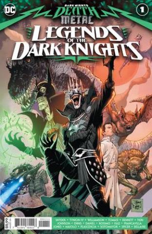Dark Nights: Death Metal - Legends of the Dark Knights #1 (Tony S Daniel Cover)