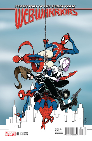 Web Warriors #11 (Duarte Last Issue Cover)