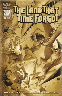 The Land That Time Forgot #2 (3 Copy Cover)