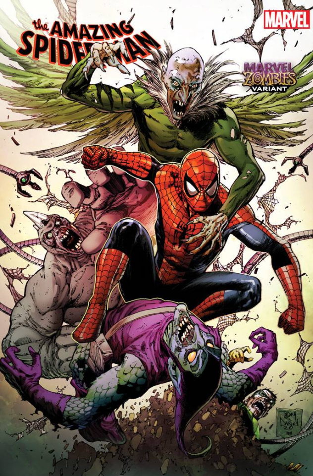 The Amazing Spider-Man #44 (Daniel Marvel Zombies Cover)