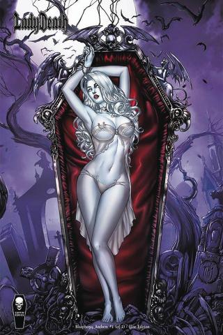 Lady Death: Blasphemy Anthem #1 (10 Copy Krome Elite Cover)