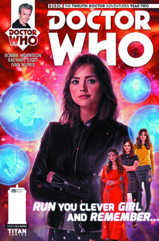 Doctor Who: New Adventures with the Twelfth Doctor, Year Two #5 (Photo Cover)