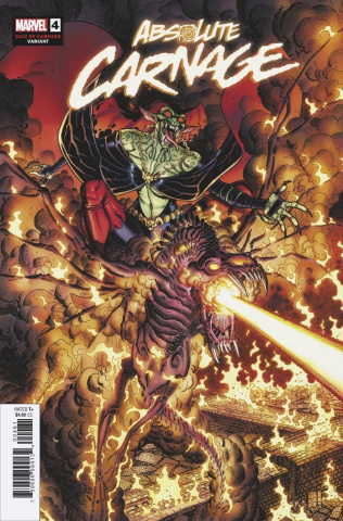 Absolute Carnage #4 (Bradshaw Cult of Carnage Cover)