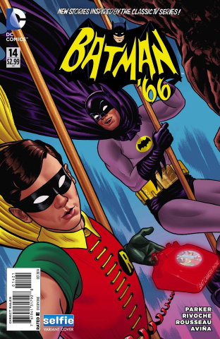 Batman '66 #14 (Selfie Cover)